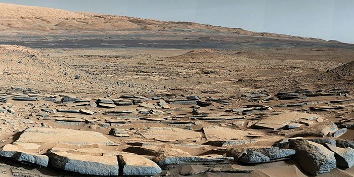 'Kimberley' formation on Mars
