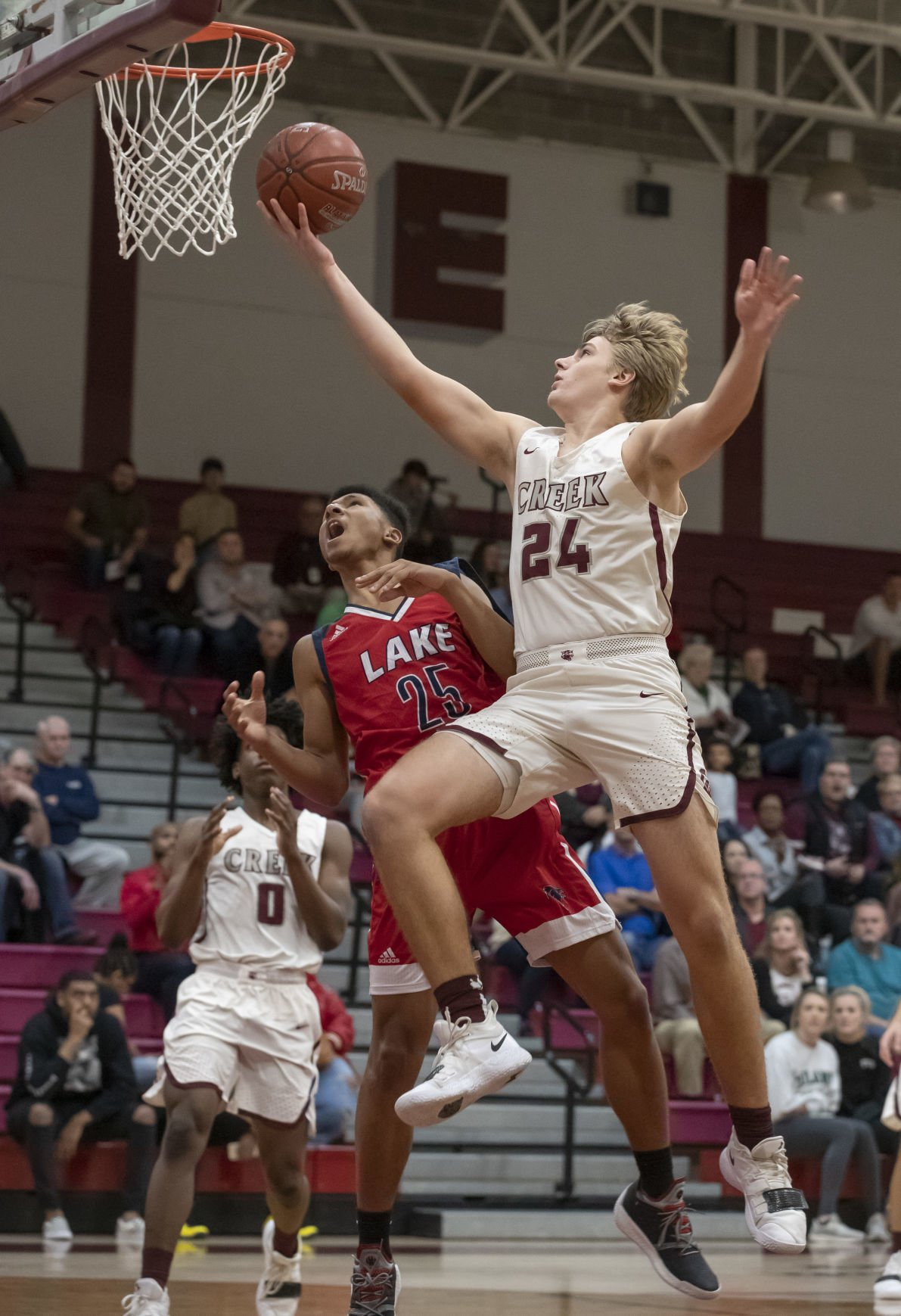 Clear Creek vs Clear Lake Boys Basketball