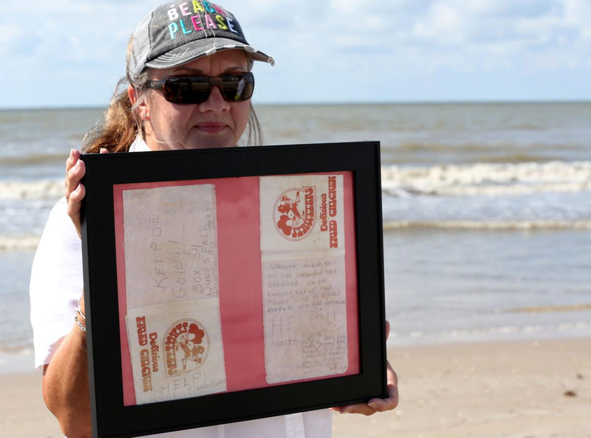 Crystal Beach couple find message in a bottle