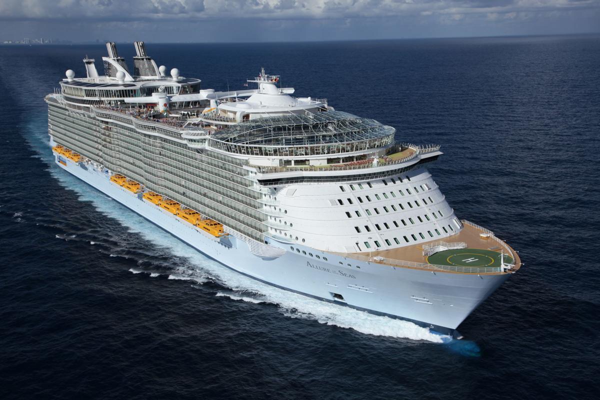 Royal Caribbean International's Allure of the Seas.