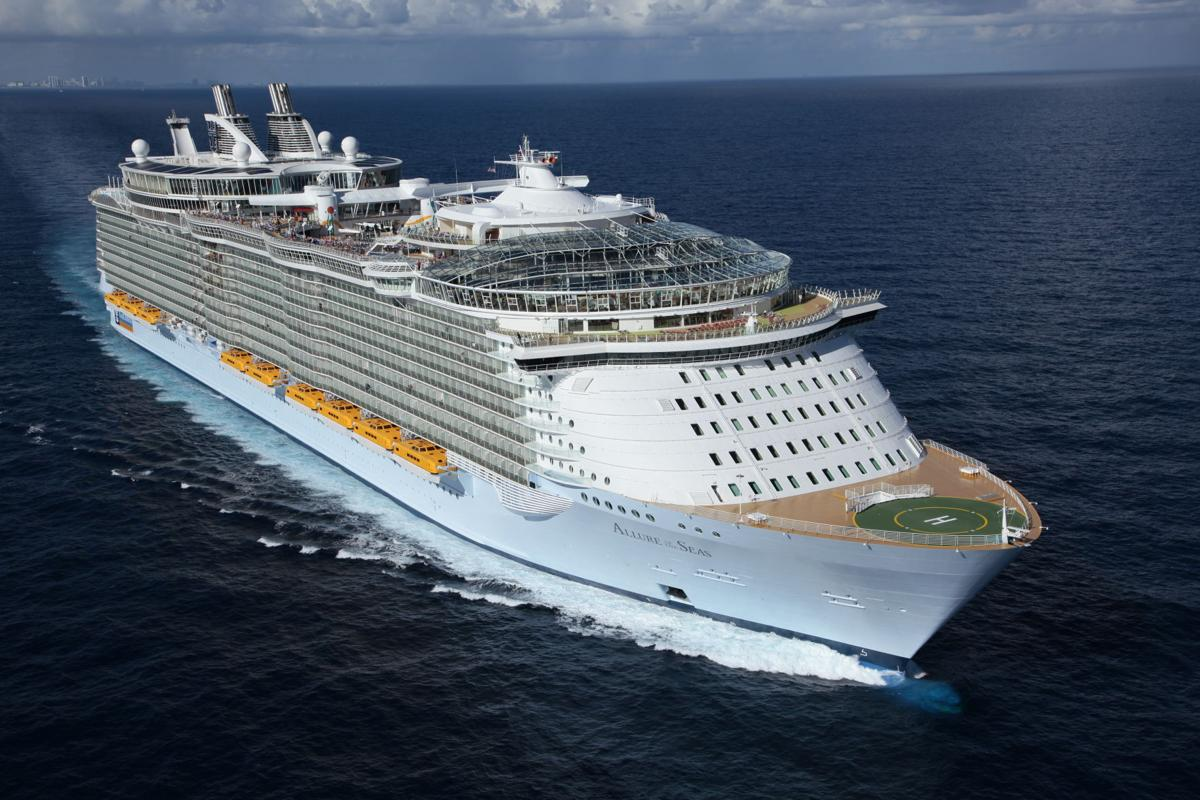 Royal Caribbean International's Allure of the Seas.