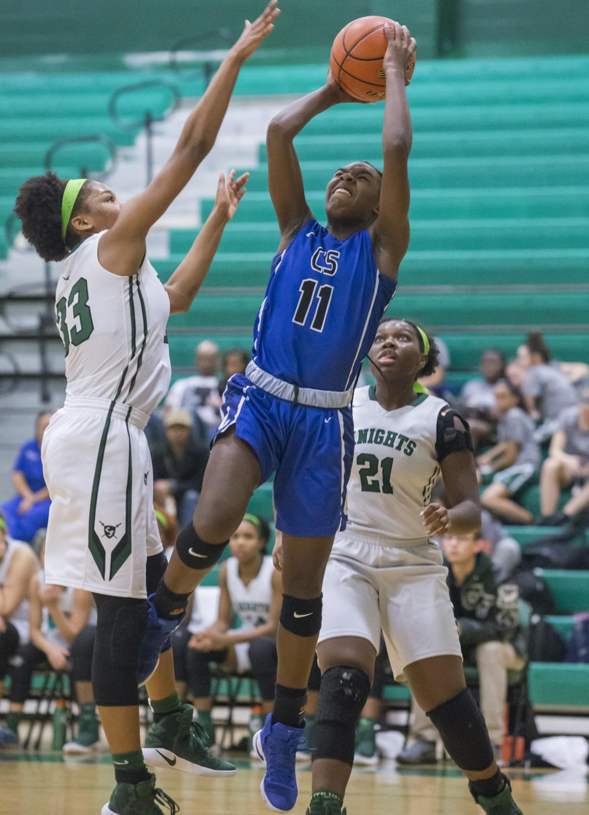 Clear Falls vs Clear Springs Girls Basketball