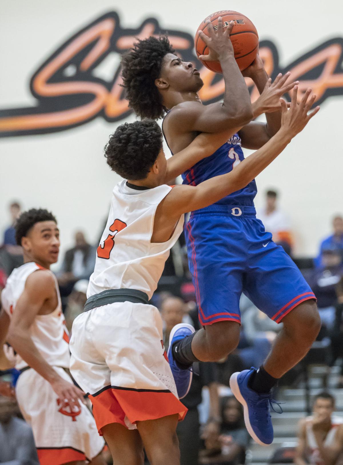 Dickinson vs Texas City Boys Basketball