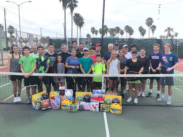 "3rd annual ""Toys For A Claus"" Doubles Tennis Tournament"