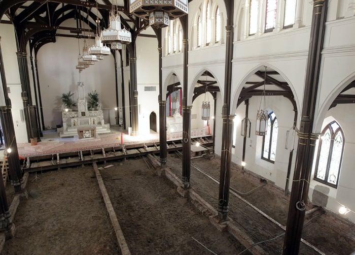 Isle's St. Mary's Cathedral Basilica undergoes restoration