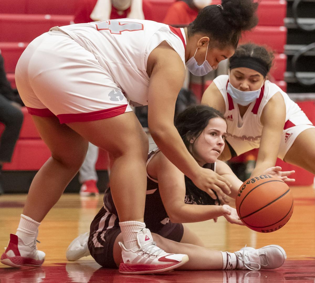 Hitchcock vs East Bernard Girls Basketball