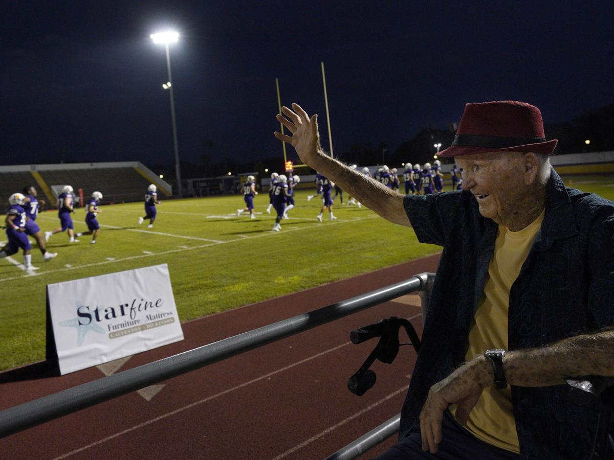 For 70 years, Galveston native has been a fixture at Tors football games