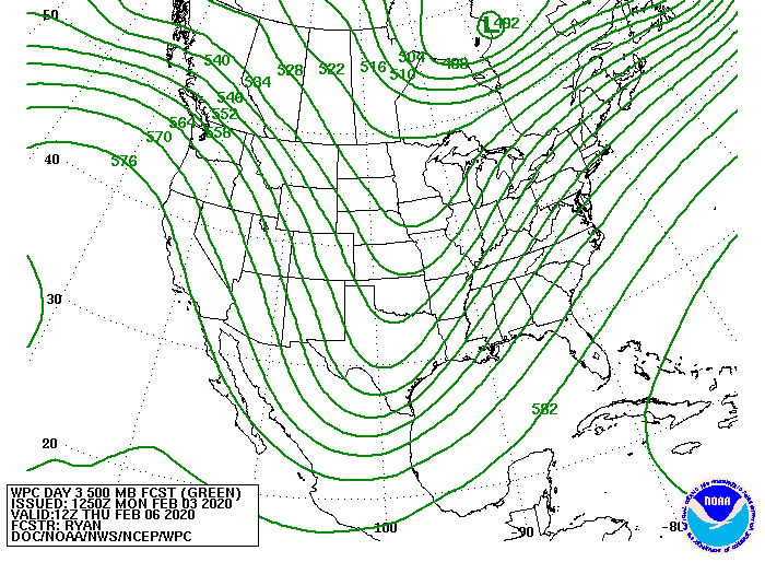 Day 3 500MB Forecast