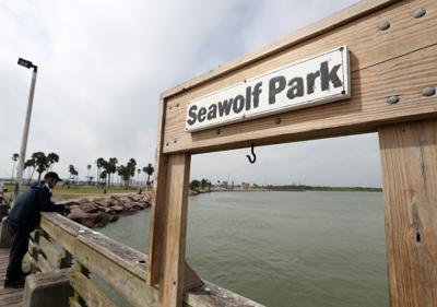 Seawolf Park fishing pier