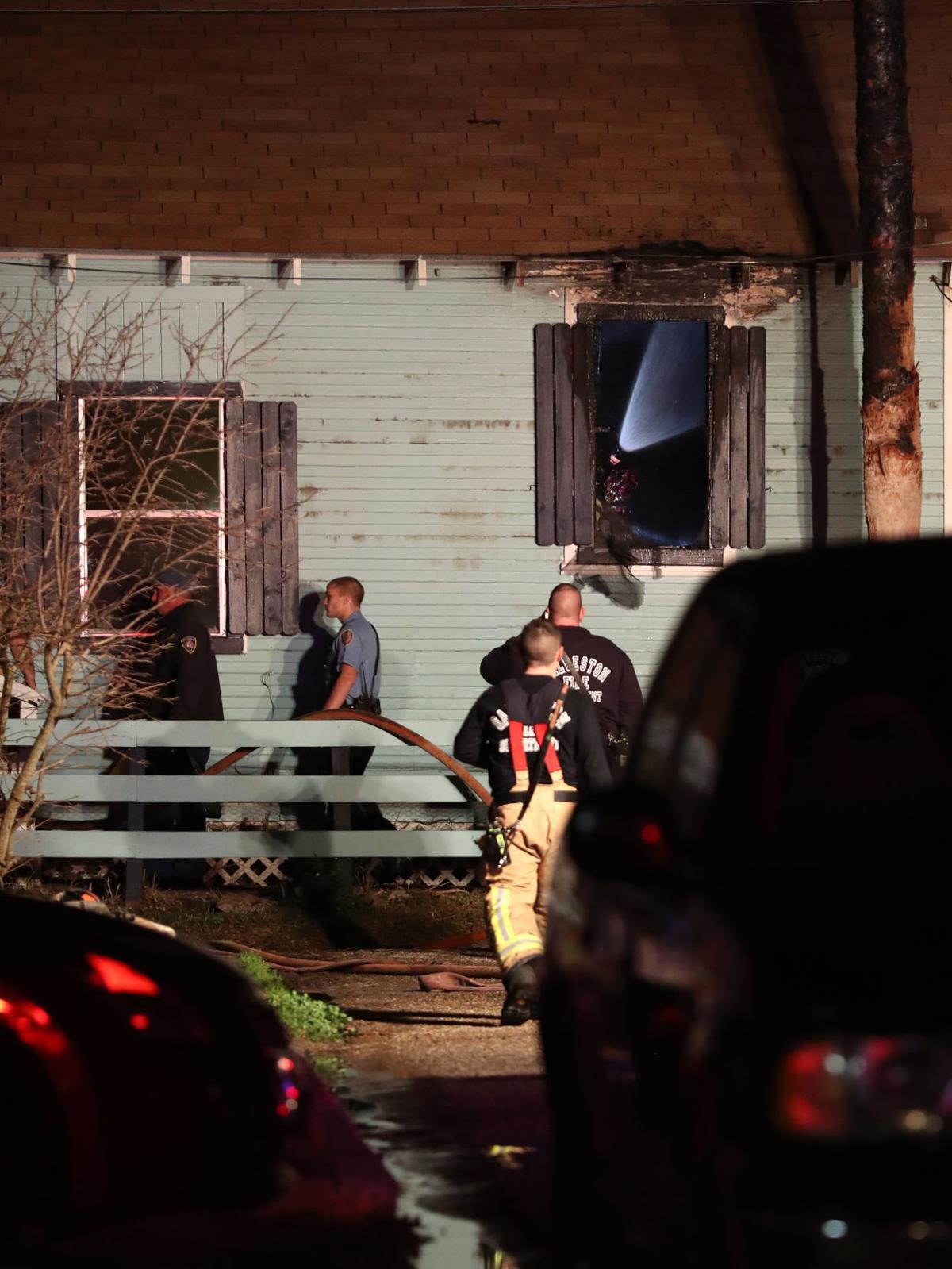 Man dies in Galveston house fire