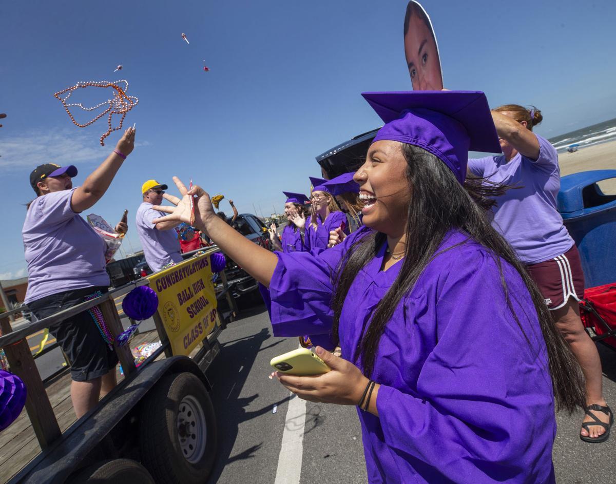 Parade for Ball High Seniors