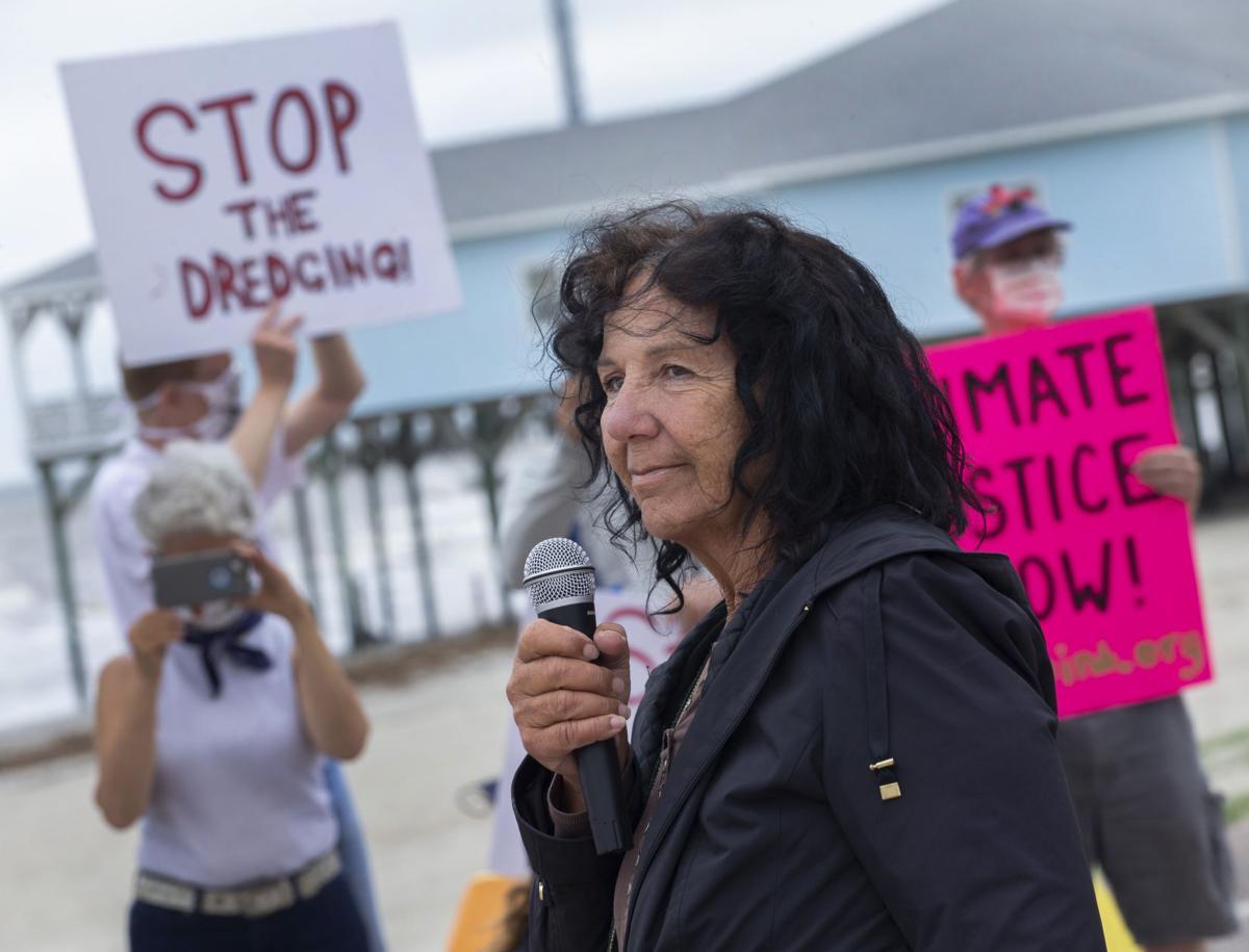 Dredging Protest