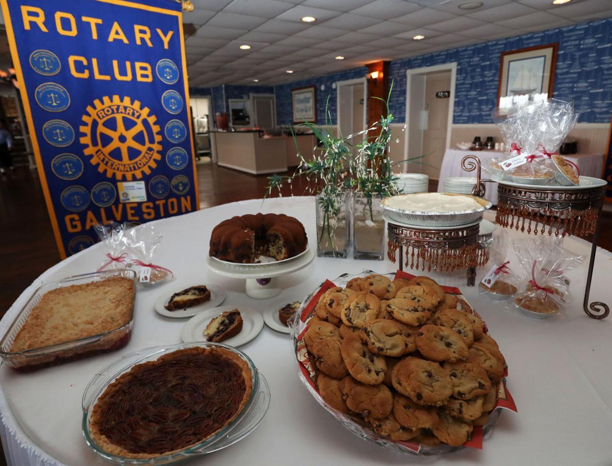 Rotary Club desserts