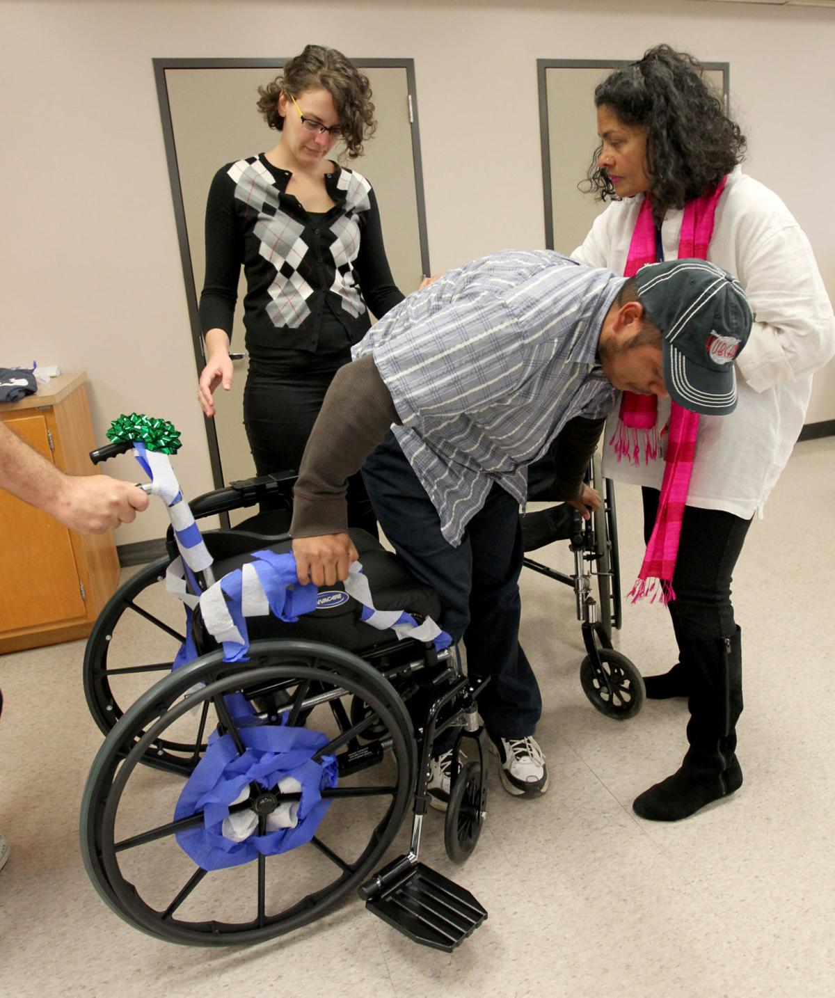 Occupational Therapy Students Surprise Client With New