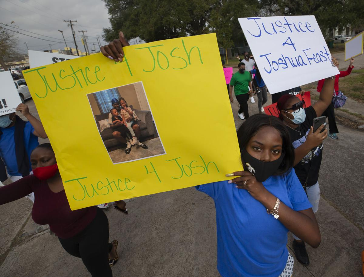 Joshua Feast Shooting Protest