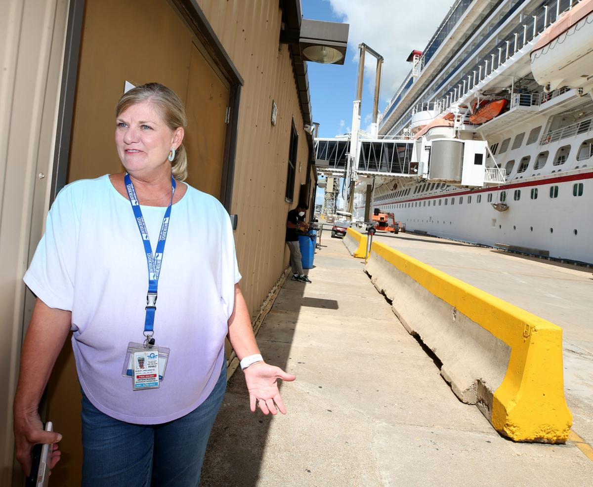 Preparing for return of cruising in Galveston