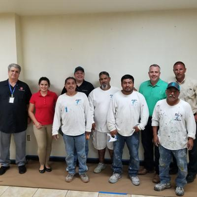 Sherwin-Williams participates in painting week