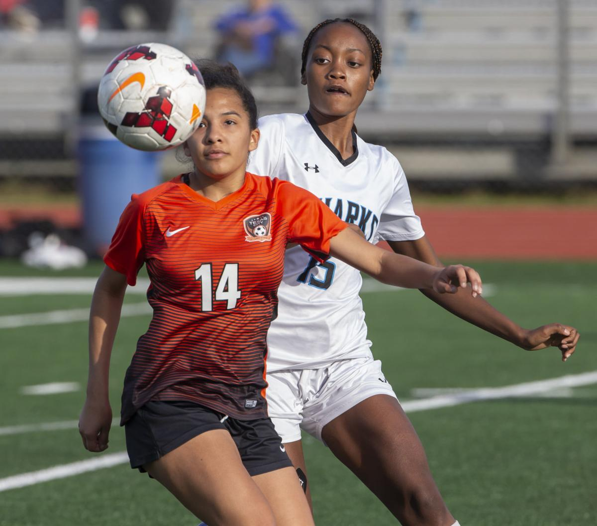 Texas City vs Shadow Creek Girls Soccer
