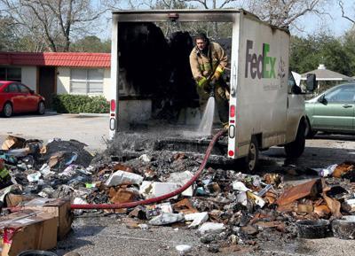 FedEx fire in Freindswood