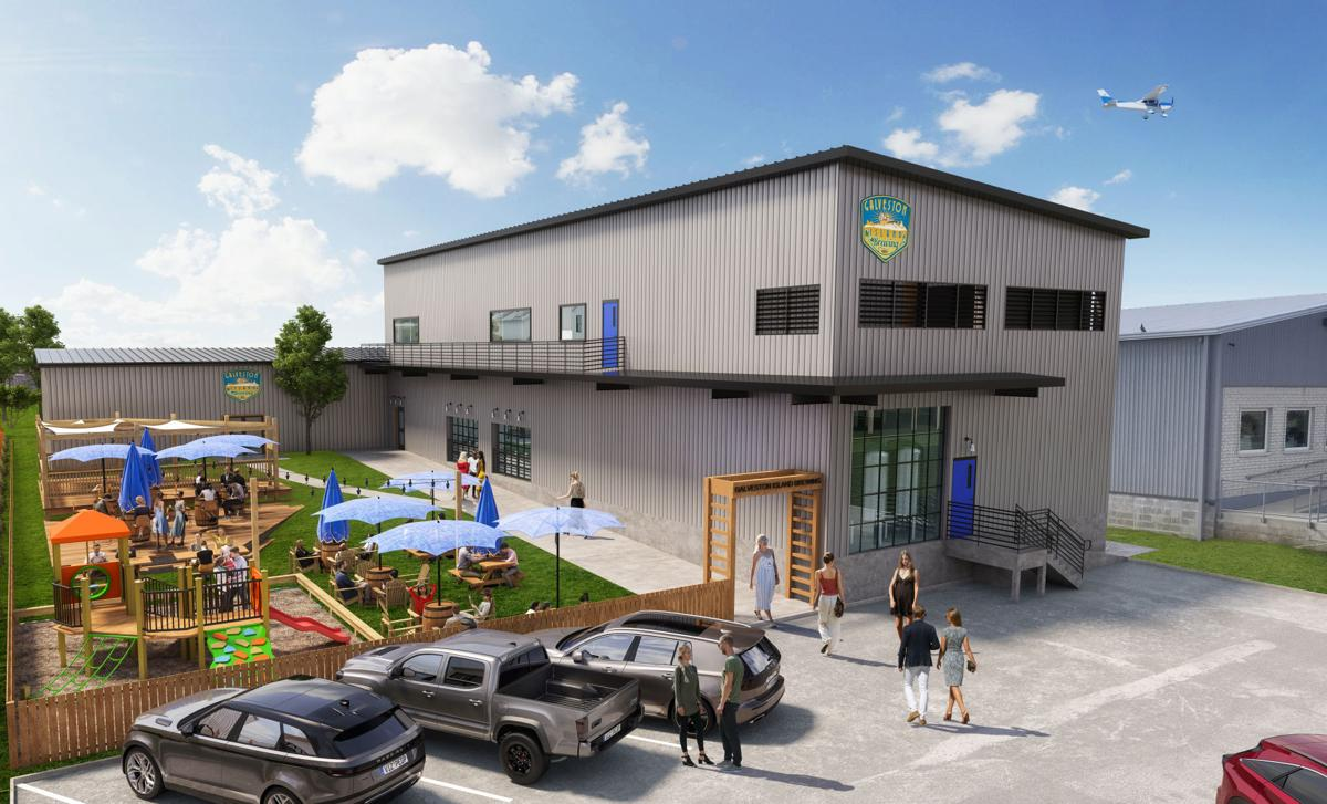Galveston Island Brewing expansion