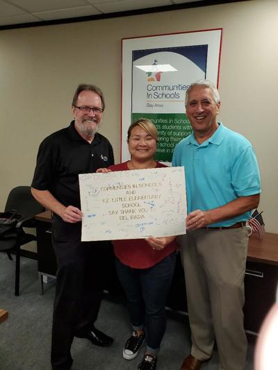 CIS Bay Area receives donation from Del Papa
