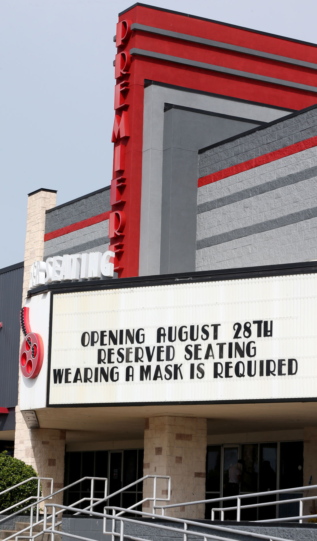 Island's movie theater reopens