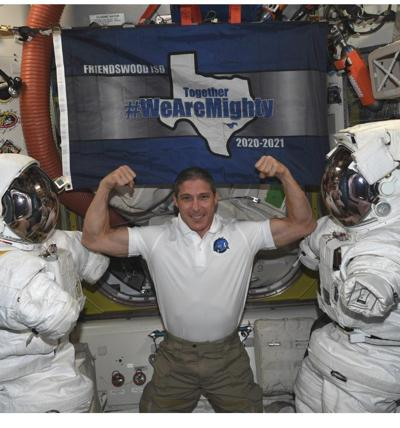 Friendswood ISD flag gets taken to space
