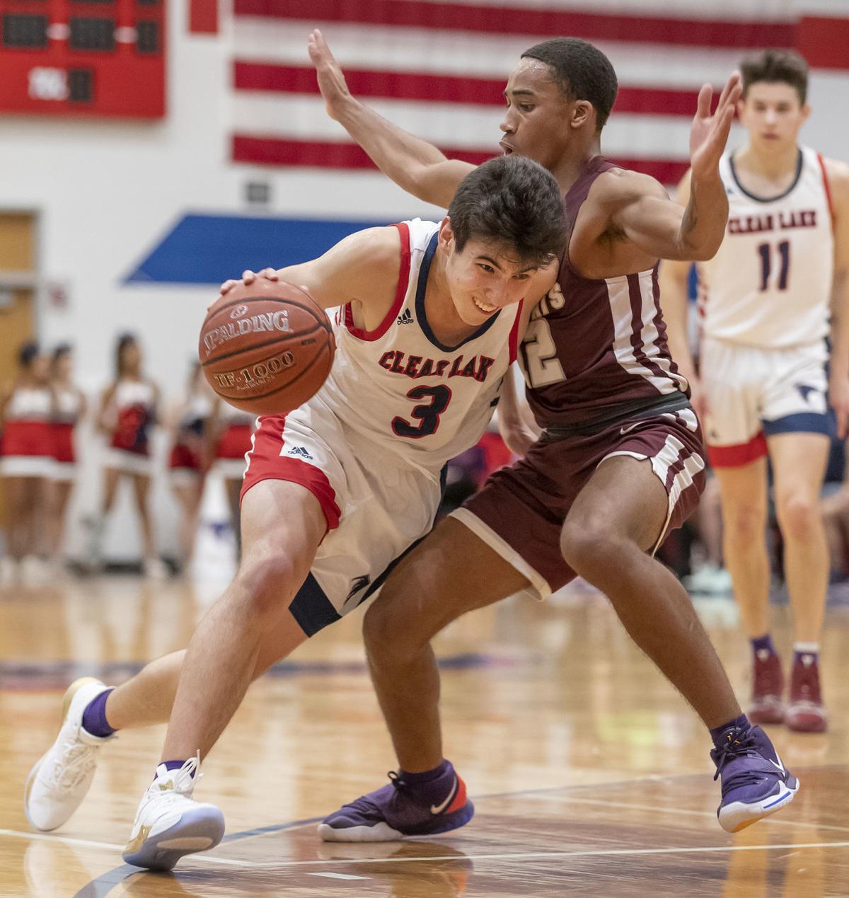 Clear Lake vs Clear Creek boys Basketball