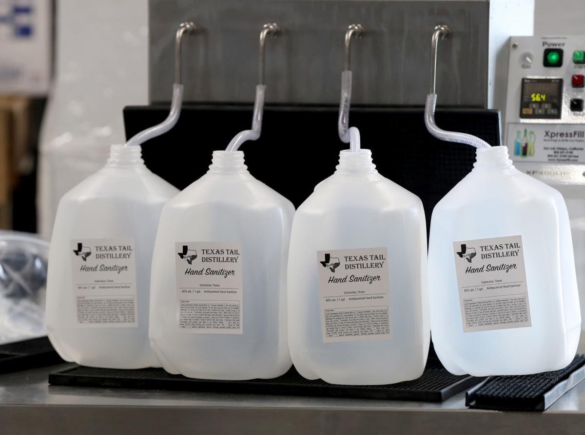 Distillers switch to hand sanitizer