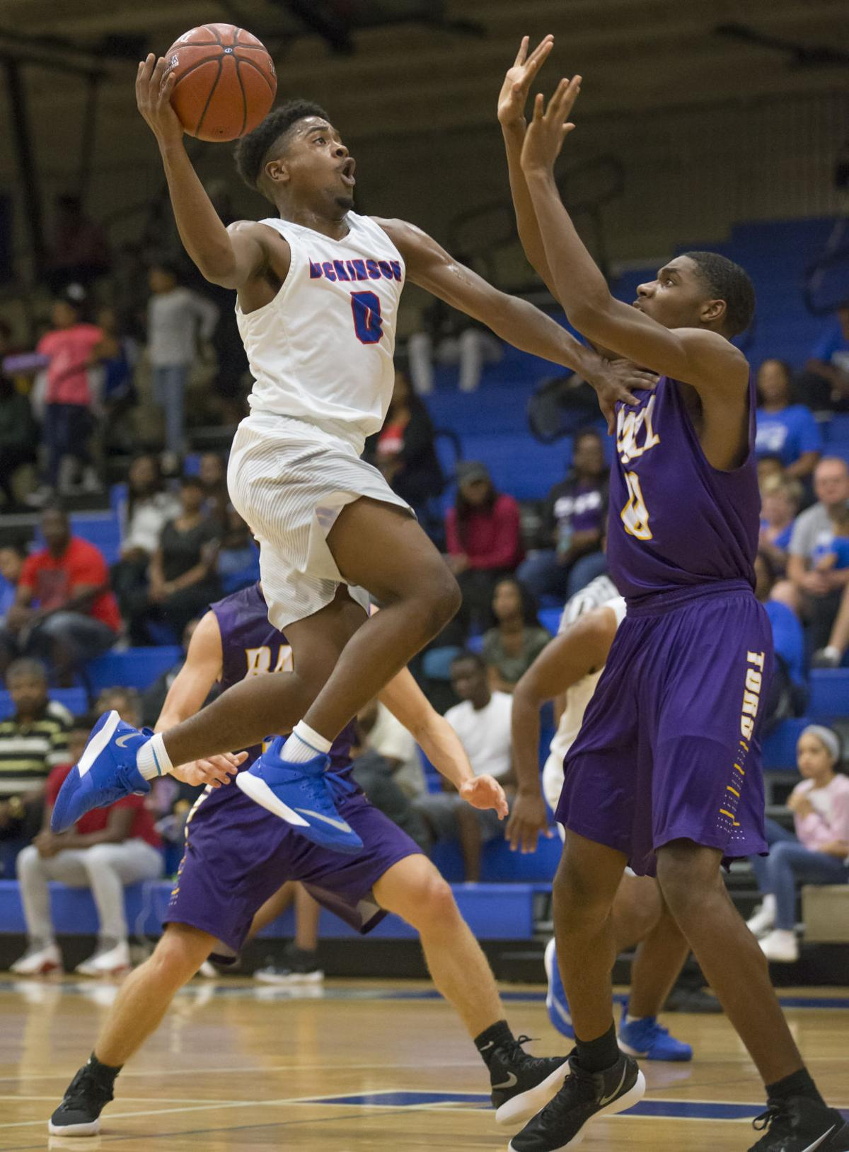 Dickinson vs Ball Boys Basketball