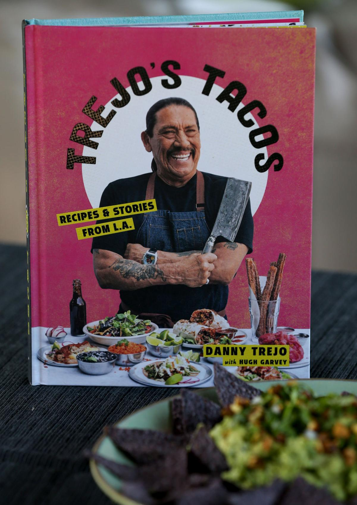 Actor Danny Trejo's new cookbook