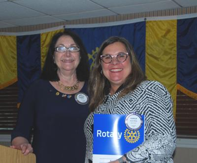 Rotary Club welcomes new member