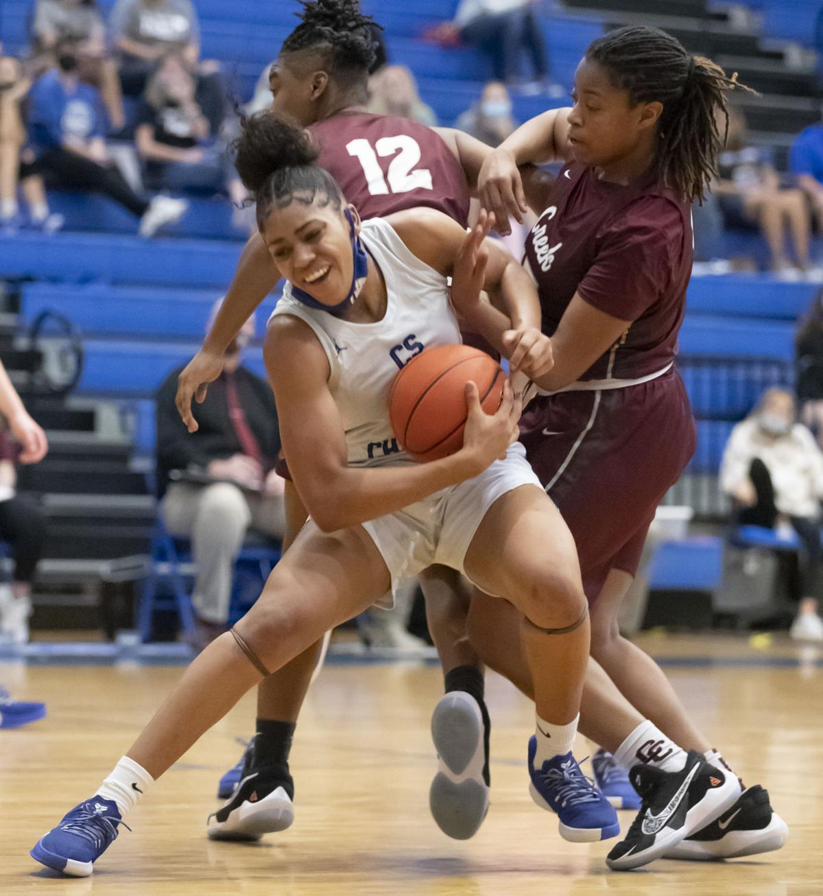 Clear Springs vs Clear Creek Girls Basketball