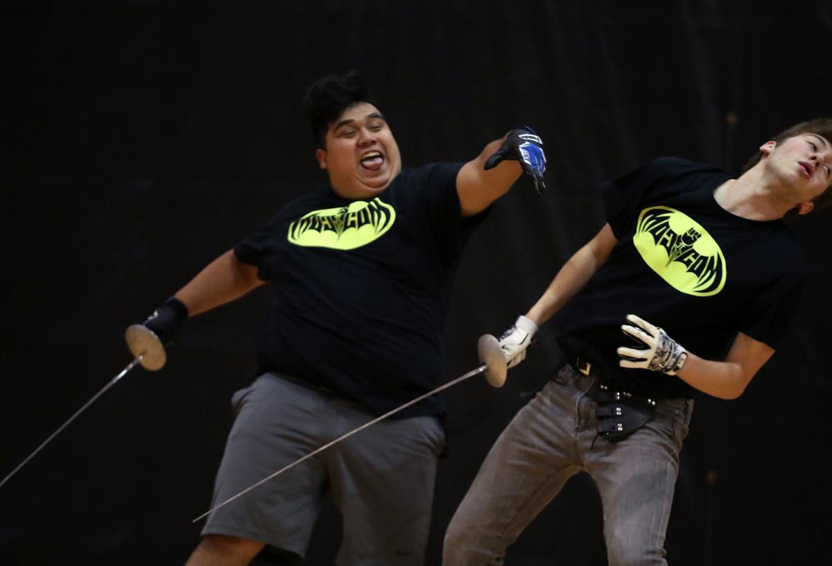 COM stage combat
