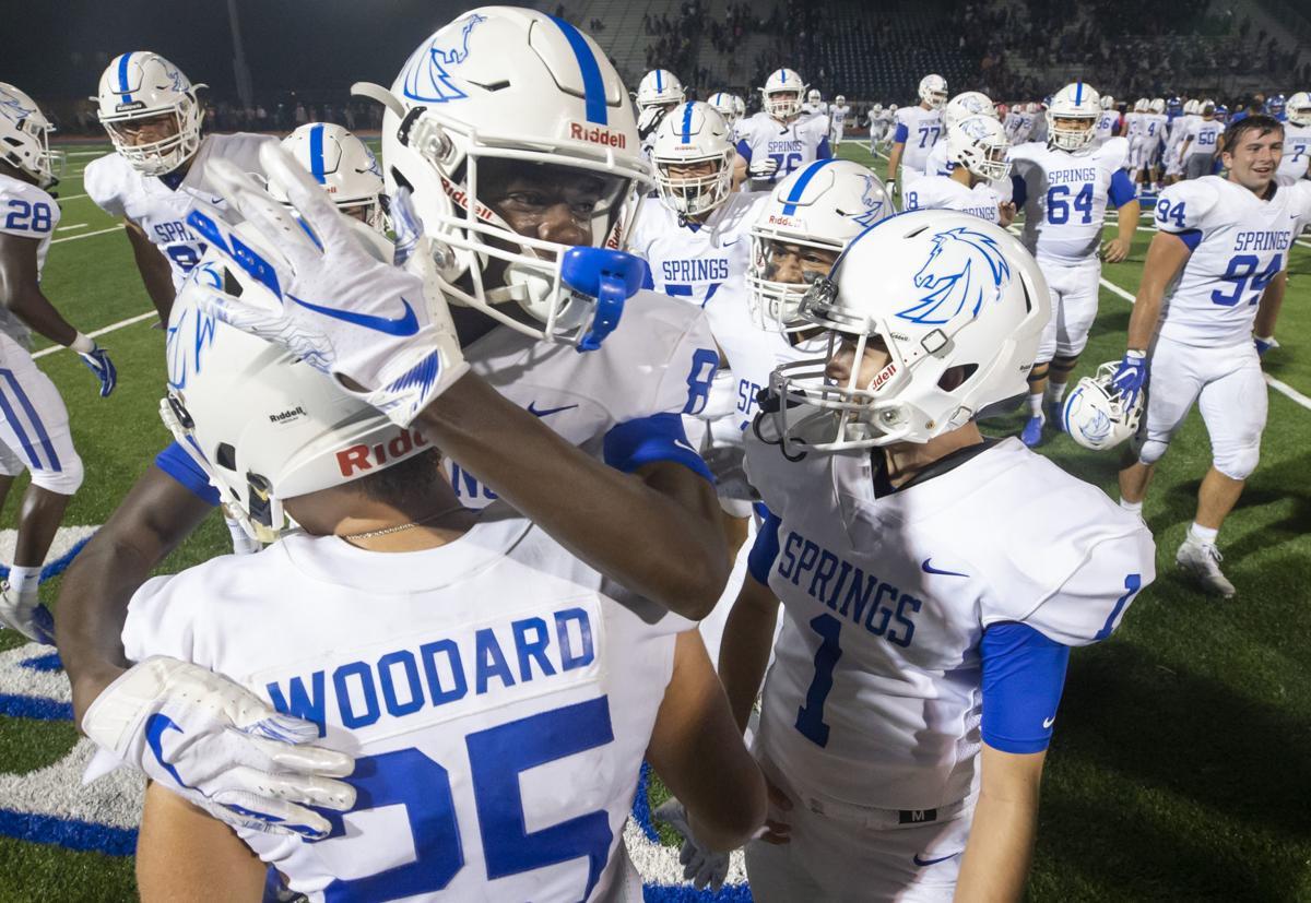 Dickinson vs Clear Springs Football