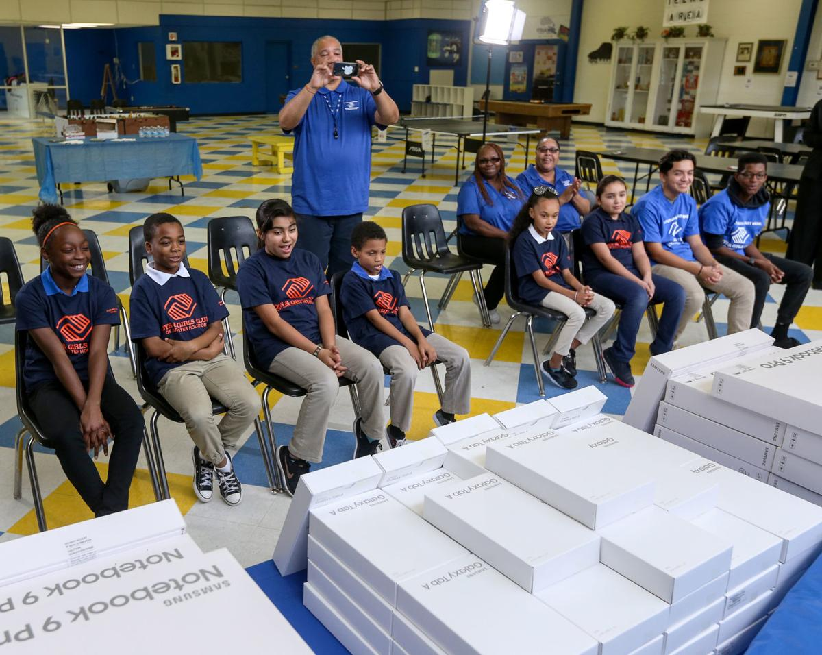 Boys & Girls Club receives donation from Samsung