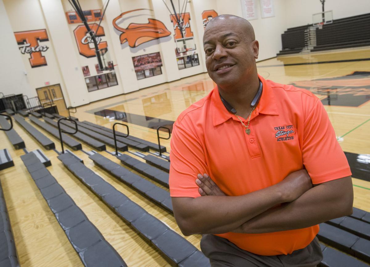Chris Mason-Galveston County Coach of the Year