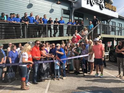 Katie's Seafood House ribbon-cutting