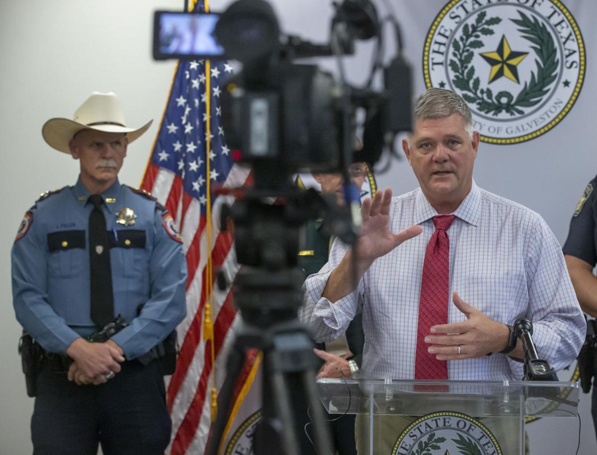 Galveston County Press Conference