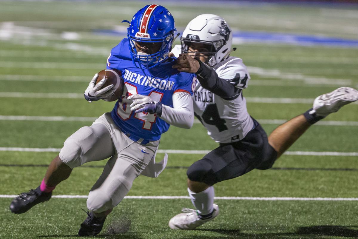 Dickinson vs Clear Falls High School Football
