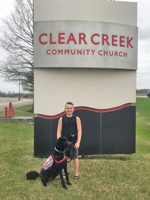 Dogs in church