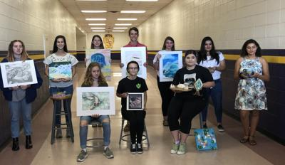Ball High School art students place in competition