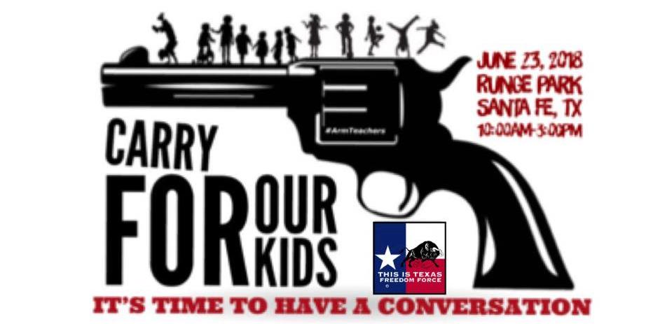 Gun event advertisment