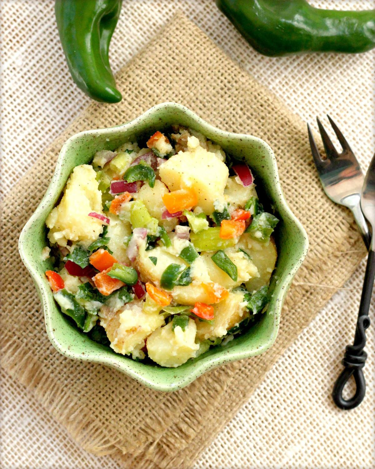 Peppery Potato Salad
