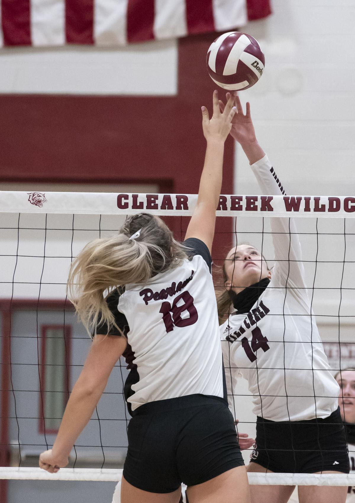Clear Creek vs Pearland Playoff Volleyball