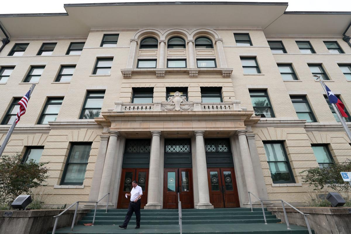 Galveston city hall renovations