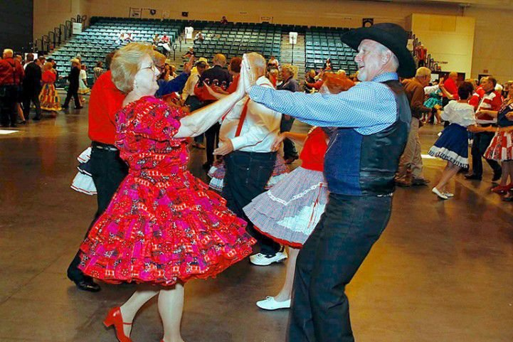 Square Dancing at Moody Gardens
