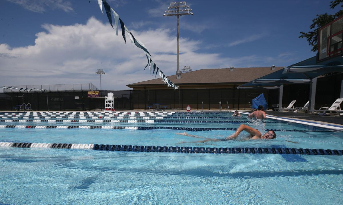 Lasker Pool opens for lap swming
