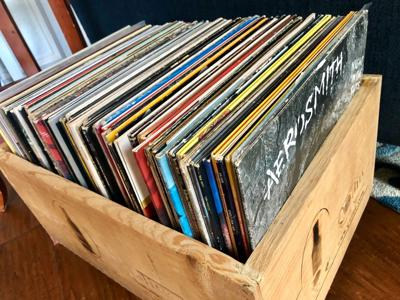 Woolsey's album collection