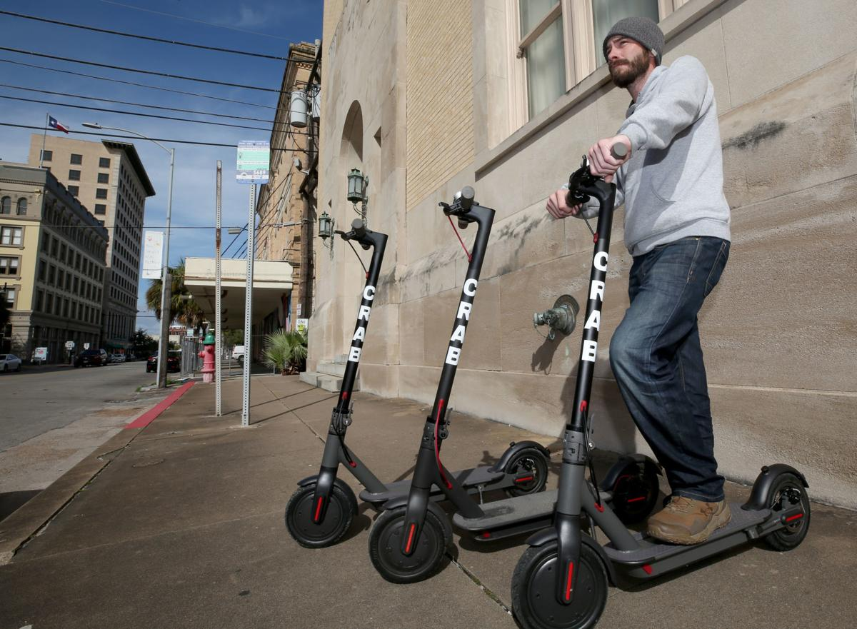 Electric scooters coming to Galveston